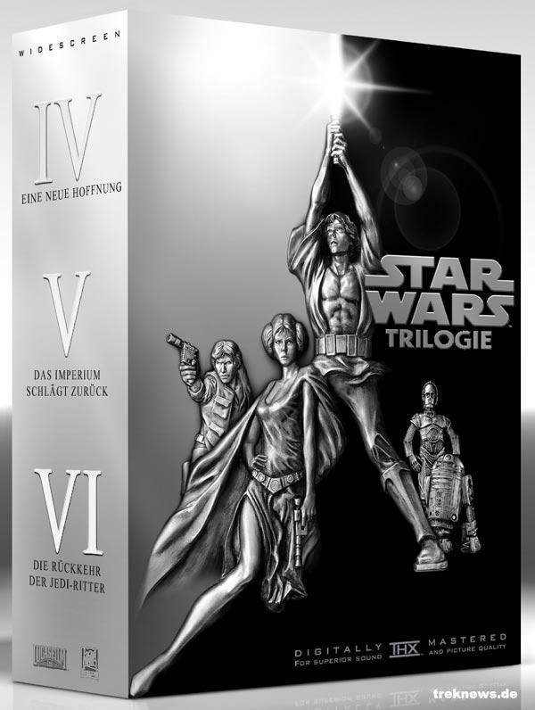 Star Wars Auf Dvd Nun Die Einzel Dvds Filme Scifinewsde