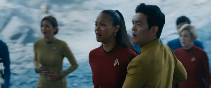 Uhura und Sulu...
