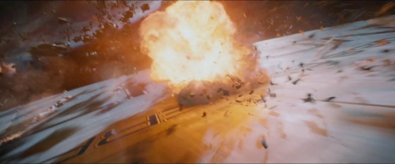 Explosion auf der Enterprise